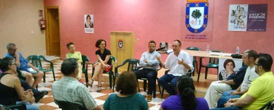Unidos Podemos presenta su programa en Moral de Calatrava