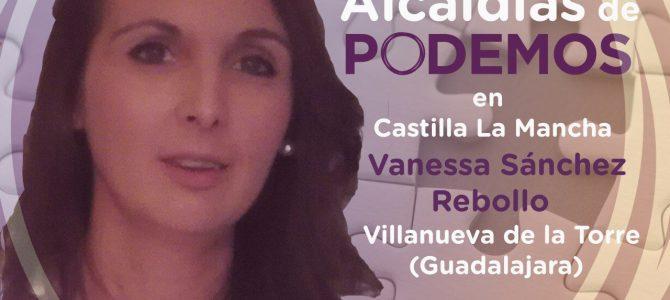 Coloquio con la alcaldesa de PODEMOS Vanessa Sánchez (Villanueva de la Torre) en Valdepeñas